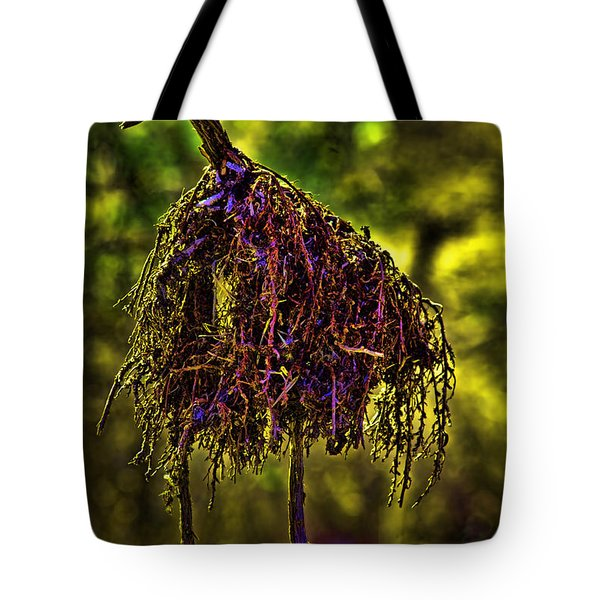 Tote Bag featuring the photograph Heron Totem by Gary Holmes
