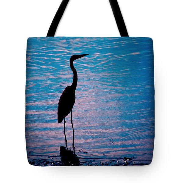 Herons Moment Tote Bag