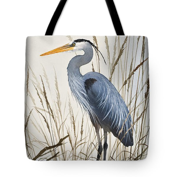 Herons Natural World Tote Bag by James Williamson