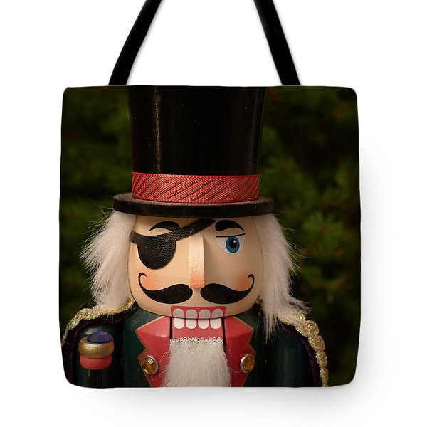Herr Drosselmeyer Nutcracker Tote Bag by Richard Reeve