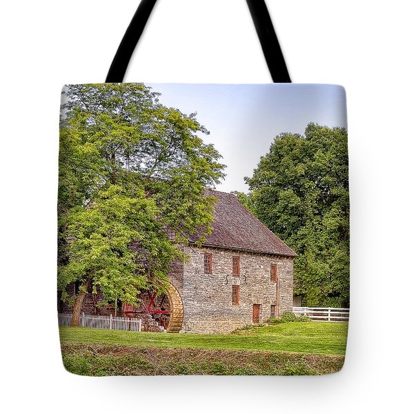 Tote Bag featuring the photograph Herr's Mill by Jim Thompson