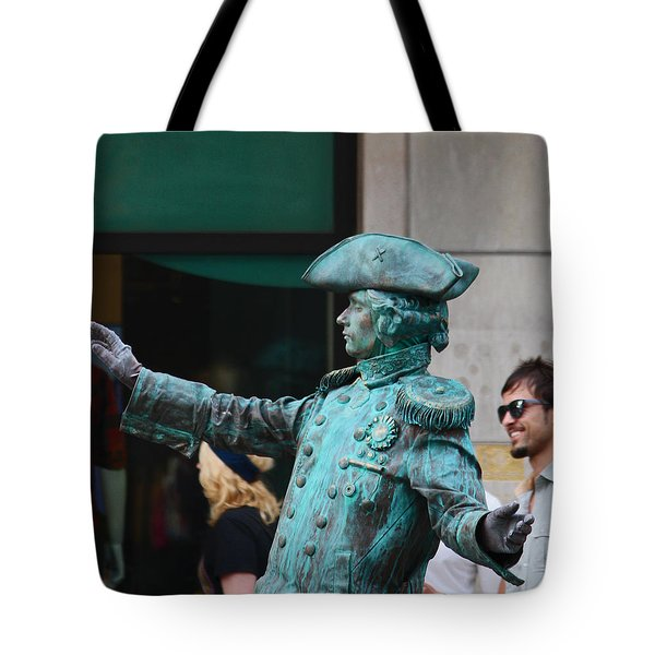 He's Alive Tote Bag by Kym Backland