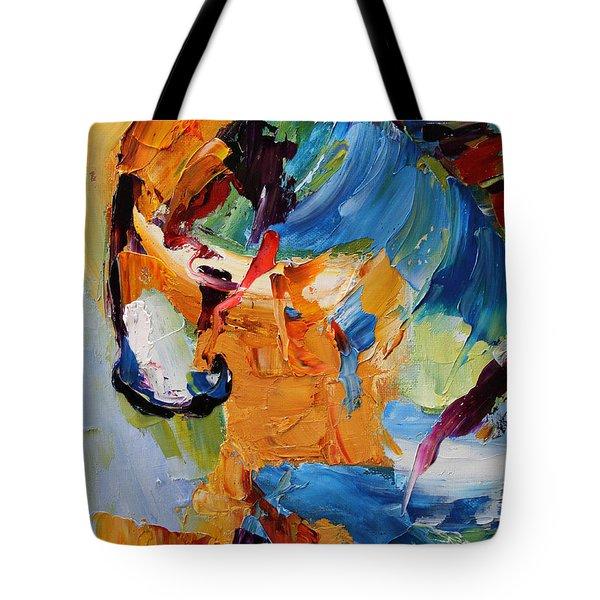 Hesitation Horse 12 Of 100  2014 Tote Bag