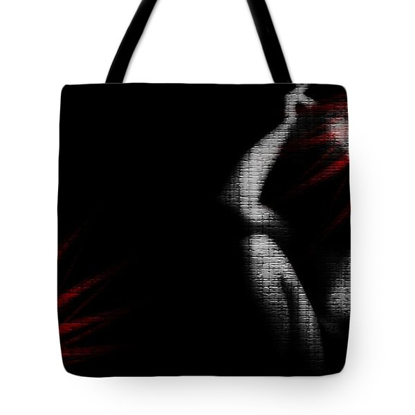Hesitation Tote Bag by Jessica Shelton