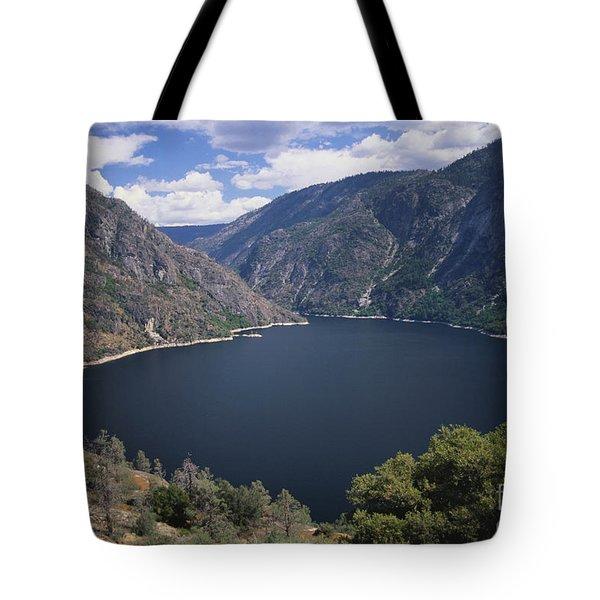 Hetch Hetchy Reservoir Tote Bag by Mark Newman