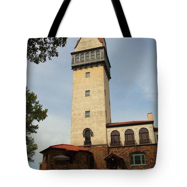 Heublein Tower Tote Bag by Karol Livote