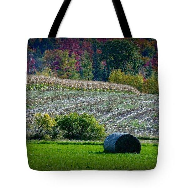 Hay Fall Tote Bag