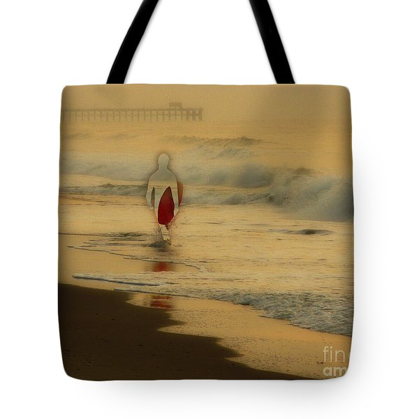 Hey What Happened To Bob Tote Bag by Jeff Breiman