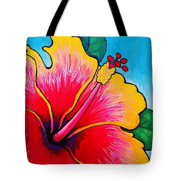 Hibiscus 01 Tote Bag