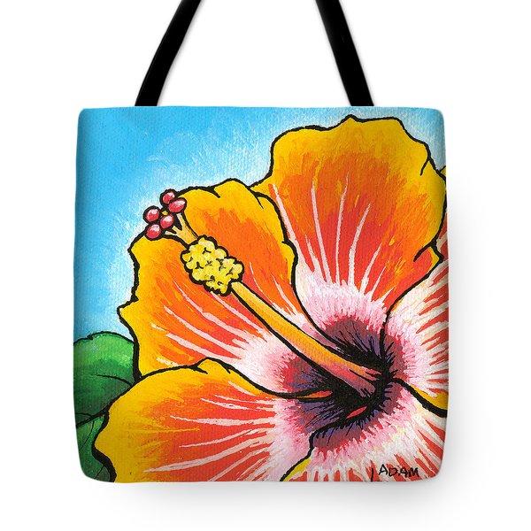 Hibiscus 04 Tote Bag