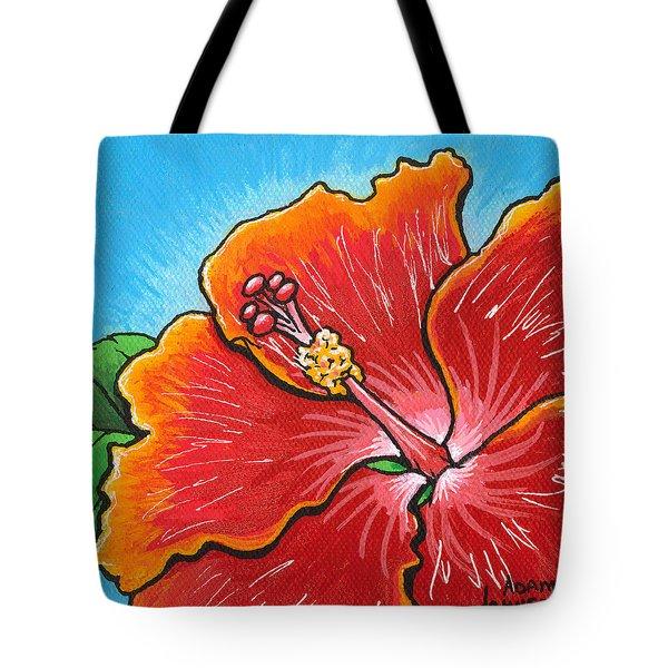 Hibiscus 06 Tote Bag