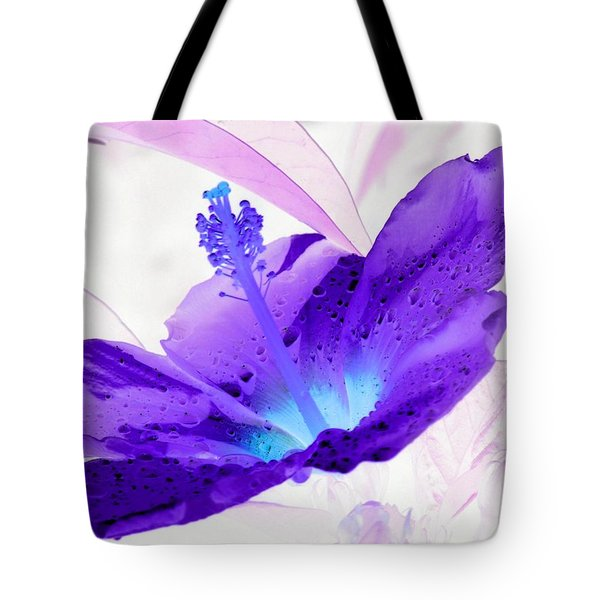 Hibiscus - After The Rain - Photopower 754 Tote Bag