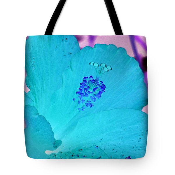 Hibiscus - After The Rain - Photopower 760 Tote Bag