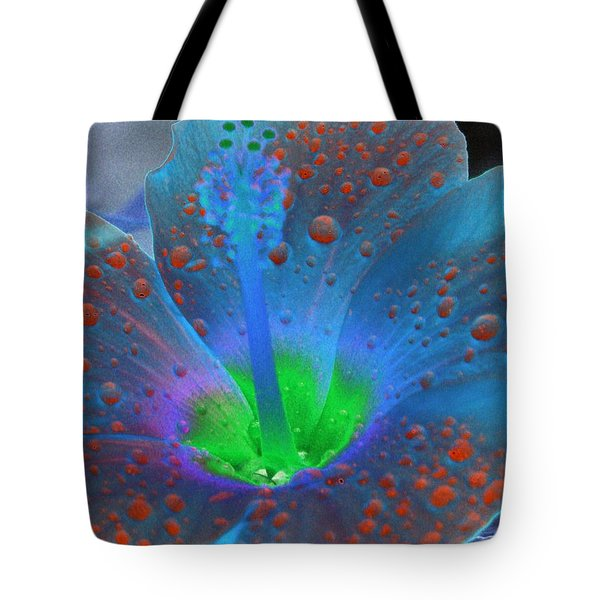 Hibiscus - After The Rain - Photopower 775 Tote Bag