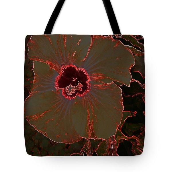 Hibiscus At Play  Tote Bag