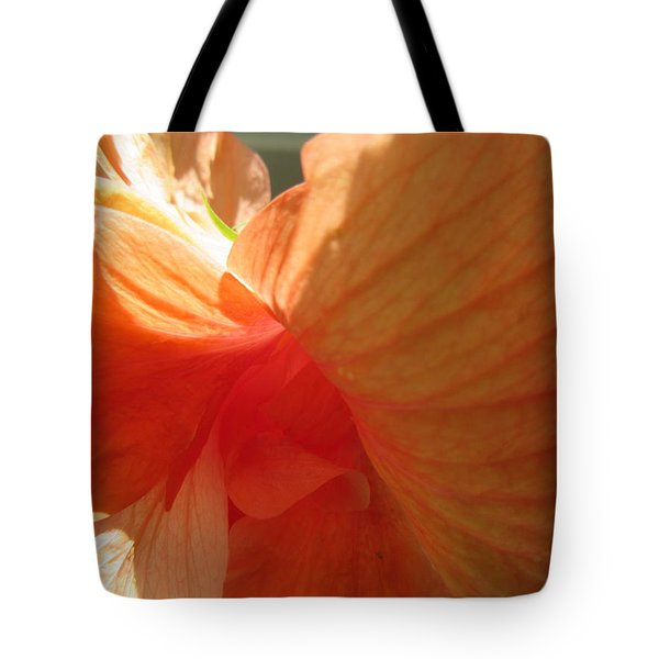 Hibiscus Butterfly Tote Bag