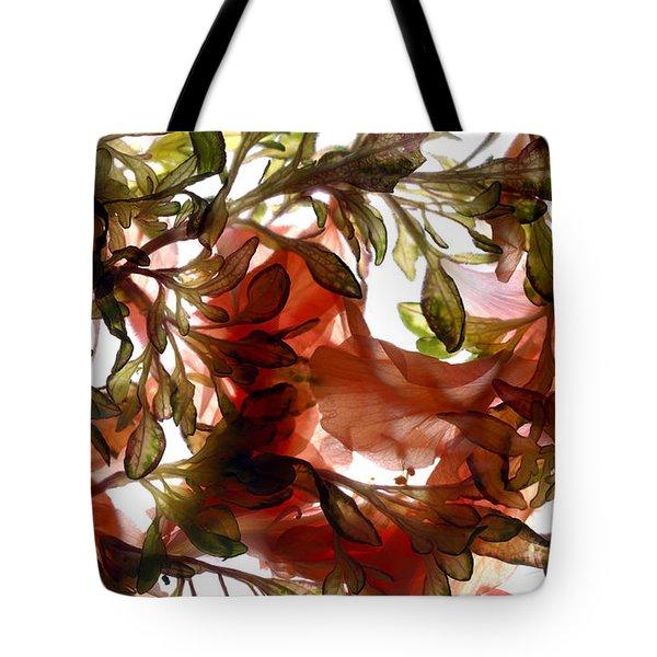 Hibiscus Coleus Array Tote Bag