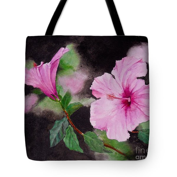Hibiscus - So Pretty In Pink Tote Bag