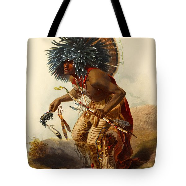 Hidatsa Warrior Tote Bag