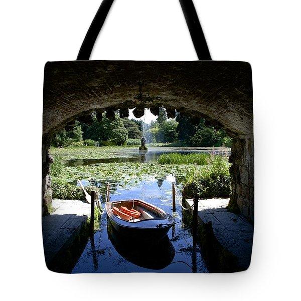 Hidden Boat Tote Bag by Charlie Brock
