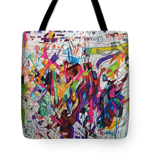 Hidden Tote Bag by David Baruch Wolk
