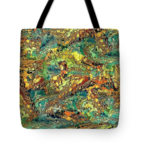 Hidden Figures By Rafi Talby Tote Bag by Rafi Talby
