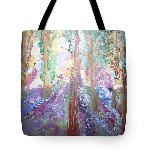 Hidden Forest Fairies Tote Bag by Judith Desrosiers