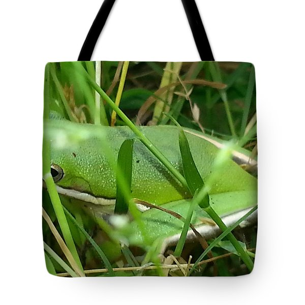 Hidden Frog Tote Bag