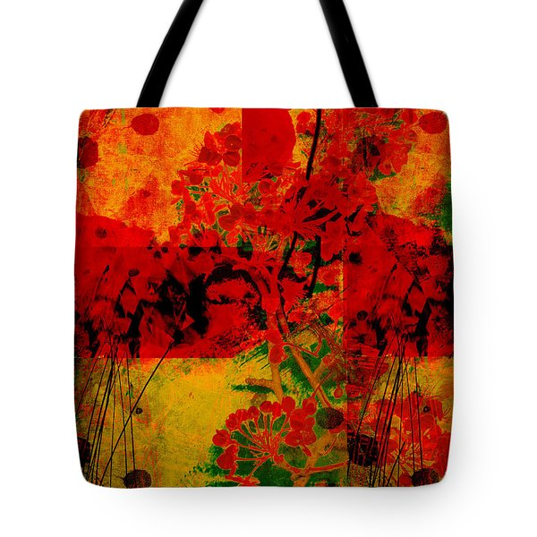 Hidden Garden Tote Bag by Ann Powell