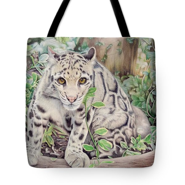 Hidden In Plain Sight - Clouded Leopard Tote Bag