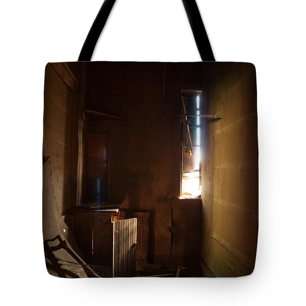 Tote Bag featuring the photograph Hidden In Shadow by Fran Riley