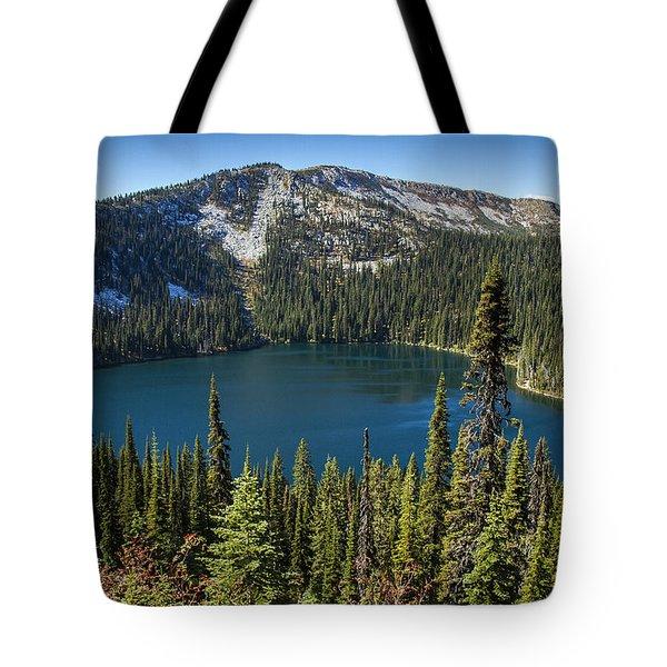 Hidden Lake In Idaho Tote Bag