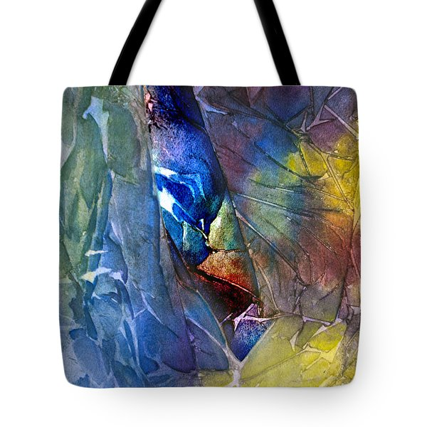 Tote Bag featuring the painting Hidden Light by Allison Ashton