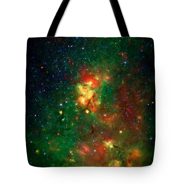 Hidden Nebula 2 Tote Bag by Jennifer Rondinelli Reilly - Fine Art Photography