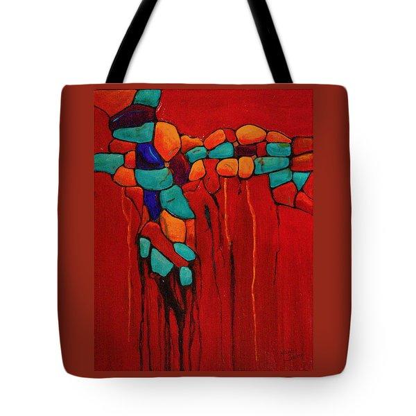Hidden Nuggets Tote Bag by Nancy Jolley