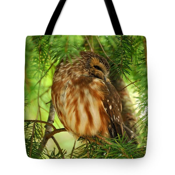 Tote Bag featuring the photograph Hidden  by Sabine Edrissi