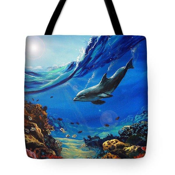 Hidden Splendor Tote Bag by Marco Antonio Aguilar