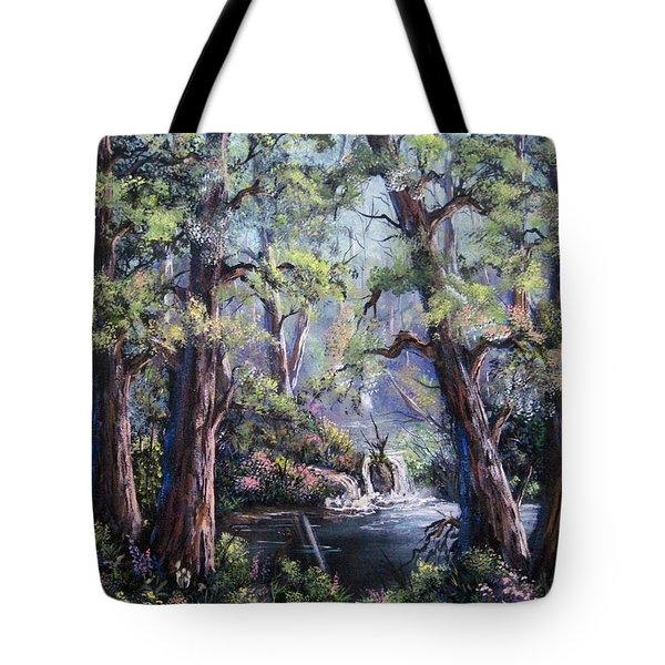Hidden Waters Tote Bag by Megan Walsh