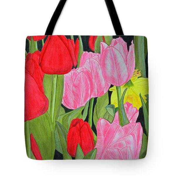 Hide 'n Seek Tote Bag by Donna  Manaraze