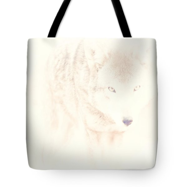 Hiding Behind Those Eyes Tote Bag by Karol Livote