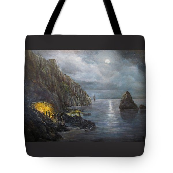 Hiding Treasure Tote Bag