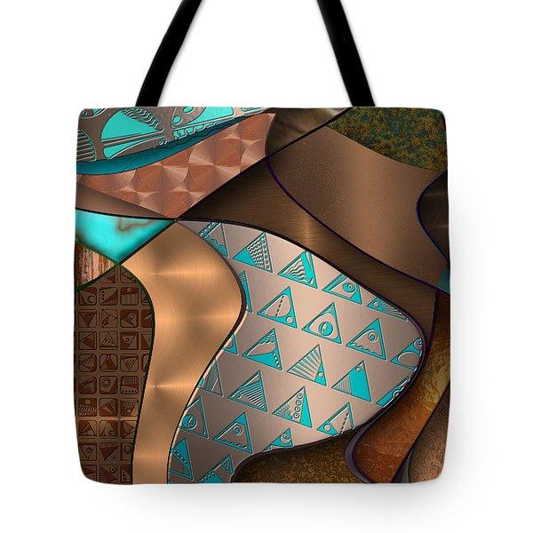 Hieroquoise Cupriglyphs Tote Bag