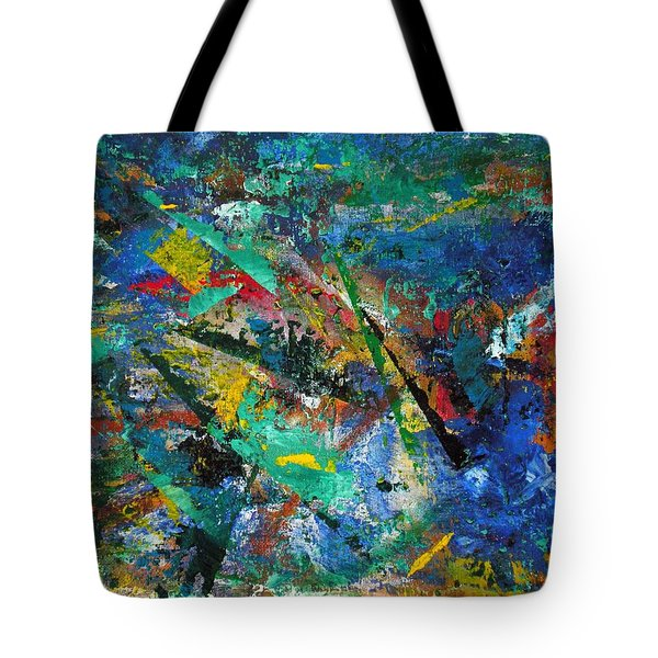 Higgs Field Activity -or- Paint Tote Bag by Scott Haley