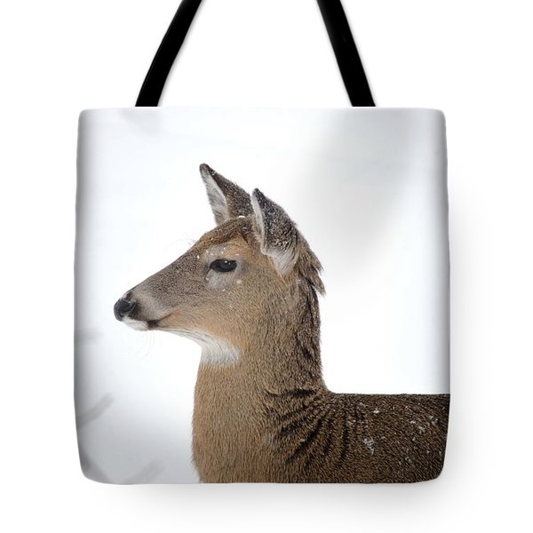 Tote Bag featuring the photograph High Alert by Dacia Doroff