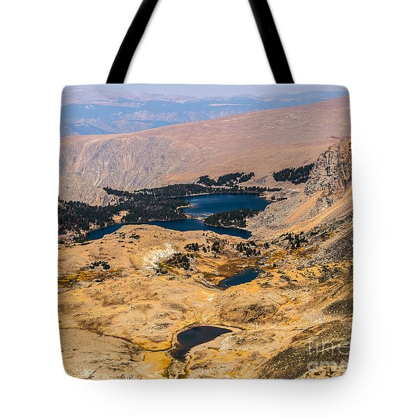 High Altitude Lakes Tote Bag by Sue Smith