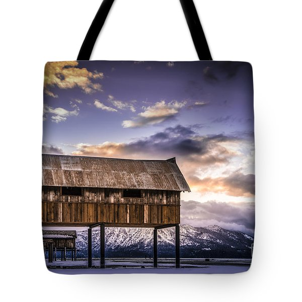 Tote Bag featuring the photograph High And Dry At Tahoe by Janis Knight