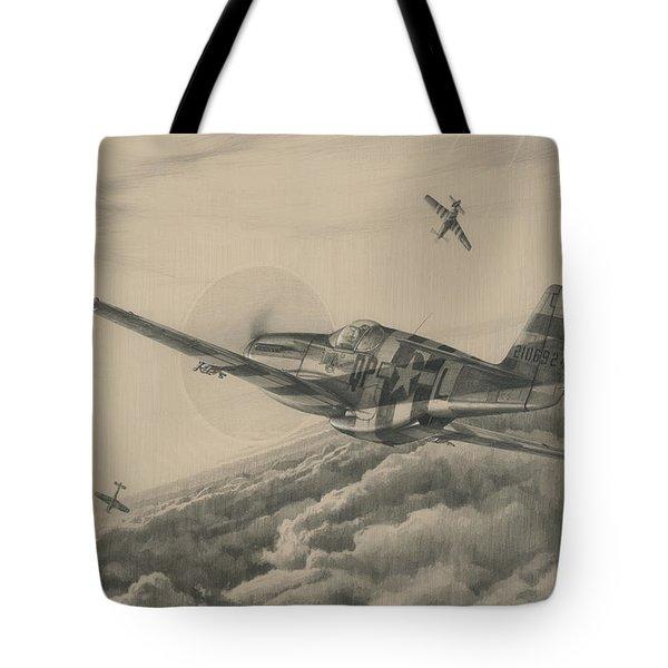 High-angle Snapshot Tote Bag by Wade Meyers