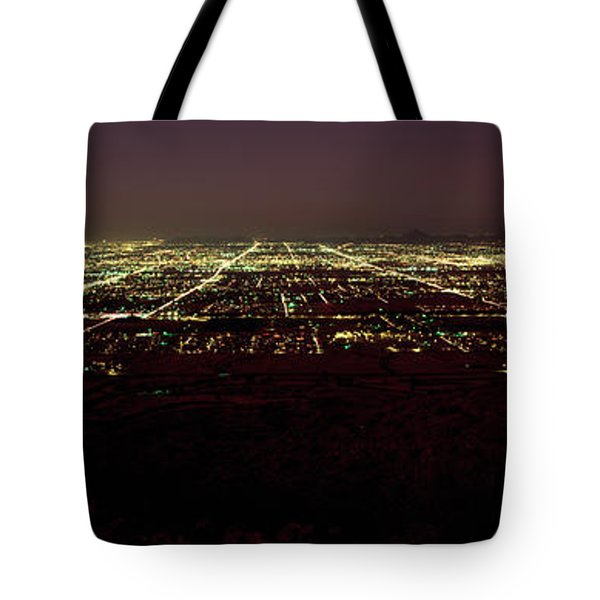 High Angle View Of A City, South Tote Bag