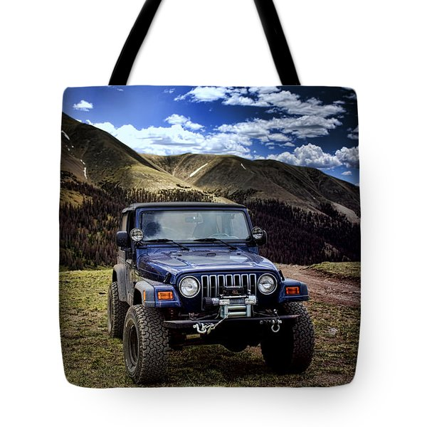 High Country Adventure Tote Bag