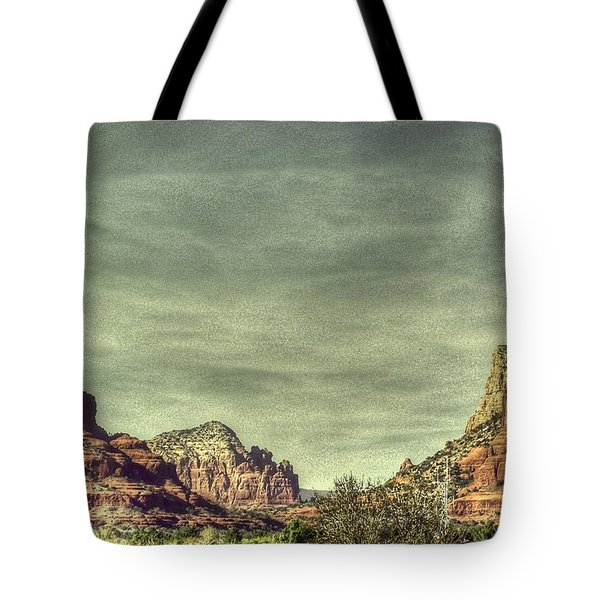 High Country Tote Bag by Dan Stone